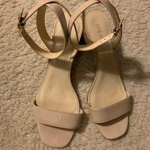 Nine West Ankle Strap Block Heel